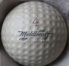 (1) Cary Middlecoff Signature Logo Golf Ball (A 00004000 Utograph Sm Cir 1960) #4