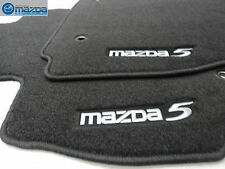 MAZDA 5 2012-2013 NEW OEM FRONT CHARCOAL BLACK FLOOR MATS