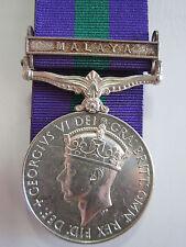 "British General Service Medal ""MALAYA"" clasp - Sigmn.Bhagilal Rana R.SigsGur"