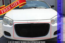GTG 2004 - 2006 Chrysler Sebring 1PC Gloss Black Replacement Billet Grille Grill
