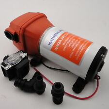 Perfect SEAFLO High Pressure Water Pump 12 V DC 40 PSI 4.5 GPM. Fittings
