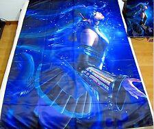 Miku Hatsune Vocaloid Anime Bettdeckenbezug Bettwäsche Bettgarnitur 150x220cm