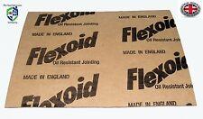 GUARNIZIONE Flexoid genuino carta A4 x 4 Dimensioni foglio (spedizione gratuita nel Regno Unito) 0.08 mm SPESSORE