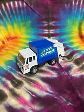 """vintage 1988 Remco Toys County Disposal Garbage Truck 4.25"""" Inch"""