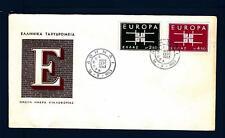 GREECE - GRECIA - 1963 - Europa - Disegno geometrico con le iniziali CEPT - (D)
