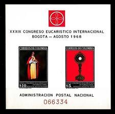 COLOMBIA - BF - 1968 - 39° Congresso Eucaristico Internazionale, Bogotá