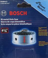 "Bosch HSM412 4-1/8"" Bi-Metal Hole Saw For Sheet Metal"