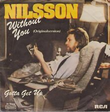 """Nilsson Without You / Gotta Get Up 70`s 7"""" Single RCA Records"""