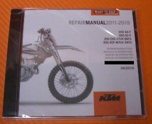 Werkstatthandbuch Reparaturanleitung KTM  350 SX-F / XC-F / SIX DAYS 2011-2019