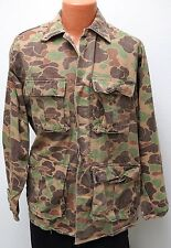 vtg Cabela's CAMO HUNTING JACKET XL 80s/90s made USA 4-Pocket Tan Brown Green