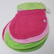 Green Sprouts Muslin Burp Cloths Made From Organic Cotton 4 absorbent layers