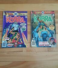 Kobra #7 VG 1977 Stock Image Low Grade