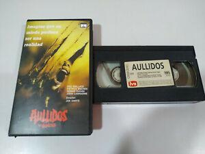 Aullidos The Howling Terror Joe Dante Promocional - VHS Español