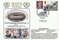 13 MAY 2018 TOTTENHAM HOTSPUR v LEICESTER CITY PREMIERSHIP DAWN FOOTBALL COVER