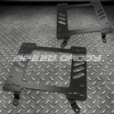 FOR 63-72 CHEVY CHEVELLE/MALIBU SS396 X2 RACING SEAT BASE MOUNT BRACKETS ADAPTER