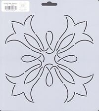 Quilting Stencil Template - Large Pear Blossom Design - Made in the US