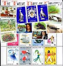 Christmas Islands 100 timbres différents