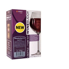 YOUNGS WINEBUDDY BLACKCHERRY WINE KIT 6 BOTTLE (7 DAY KIT) BUY 1 GET 10% OFF 2ND