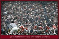 Ohio State 50th Anniversary 1968 National Champions Vintage Photograph (3 sizes)