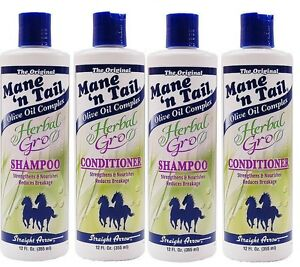 Mane 'N Tail Herbal Gro Shampoo and conditioner 355ml  twin pack 2X