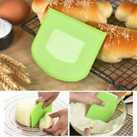 Plastic Scraper Cake Cutter Butter Dough Bench Spreader Knife Kitchen Home Tool