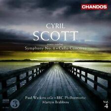 Cyril Scott - Cyril Scott: Symphony No. 1; Cello Concerto [CD]