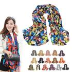 Lady Women Fashion Stylish Long Soft Silk Chiffon Scarf Neck Wrap Shawl Stole