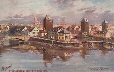 "Carte postale-OILETTE serie ""Strasburgo"" no. 676/garantite ponti"