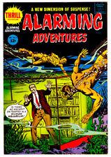 ALARMING ADVENTURES #2 in VF/NM condition a Harvey 1962 Silver Age comic