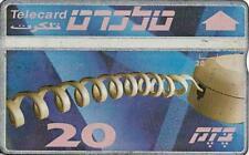 ISRAEL BEZEQ BEZEK PHONE CARD TELECARD 20 UNITS RARE