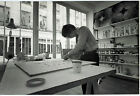 Photo Leon Herschtritt - Yvaral - Atelier - Art - tirage d'époque 1970 -