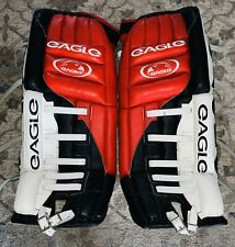 New listing Eagle Tp10 32� Pro Old School Goalie Pads New WithoutTags Nj Brodeur Colors