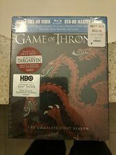 Game of Thrones: Season 1 BLU RAY Best Buy Exclusive Targaryen *NEW & SEALED*