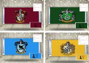 Chocolate Bar Wrapper Harry Potter Inspired Novelty Gift Hogwarts Crest Sweets