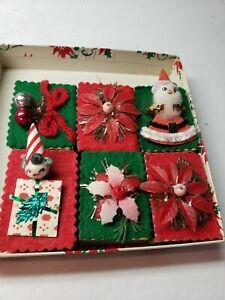 VINTAGE 1960S PIXIE SANTA AND MORE CHRISTMAS MATCHBOXES