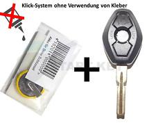 BMW Schlüssel Gehäuse + Akku E39 E38 E46 E36 Z3 Key Cle Chiave HU58 Oval