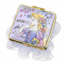Japan Disney Fancy Notepad Memo Mirror Jewelry Box - Rapunzel Rare