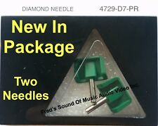 SEEBURG Record Player Needle Stylus 4729-D7-PR 4729-D7 729D7 JukeBox Showcase
