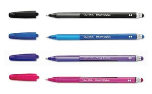 Paper Mate InkJoy 2 in 1 Stylus & Pen Medium 1.0mm Tip Assorted Colours