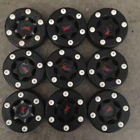 Lot Of 9 A&R Street Roller Hockey Outdoor Training PVC Puck