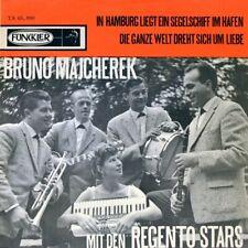"""7"""" BRUNO MAJCHEREK In Hamburg liegt ein Segelschiff REGENTO STARS FUNCKLER 1963"""