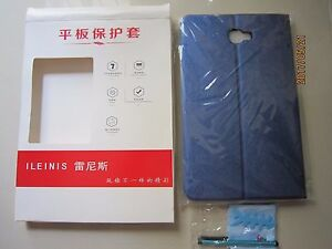 Ileinis Samsung Galaxy Tablet A 10.1 T580 Cover (Dark Blue Color) 1pcs