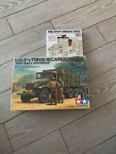 Tamiya 89648 U.S 2 1/2t 6x6 cargo truck + upgrade set 1/35