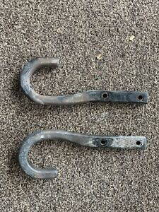 Oldsmobile Bravada GMC Jimmy Chevy Blazer Left Right Front Tow Hooks Hook Set