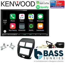 "Mitsubishi ASX 2010-2014 Kenwood 7"" DAB Bluetooth CarPlay Car Stereo Kit"