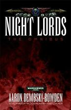 Night Lords: By Dembski-Bowden, Aaron