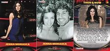 TNA TRISTARS BORN IN PITTSBURGH PA SEXY 3 JENNA MORASCA WRESTLING CARDS SEE SCAN