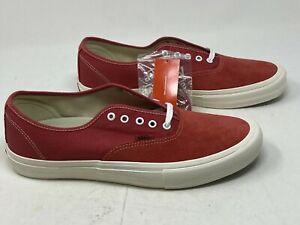 Vans Authentic Pro Mineral Red Marshmallow  Men's 13 NO BOX TOP