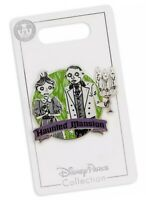 Disney Parks Haunted Mansion Ghost Hosts Cast Inspired Halloween Pin - NEW