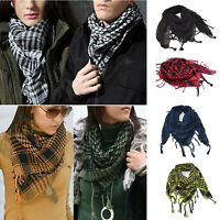 Unisex Men Tactical Army Long Hijab KeffIyeh Scarf Military Arab Shawl Neck Wrap